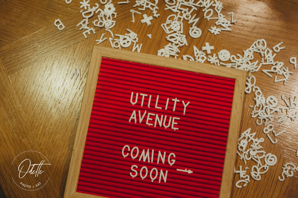 Utility Avenue Coming Soon